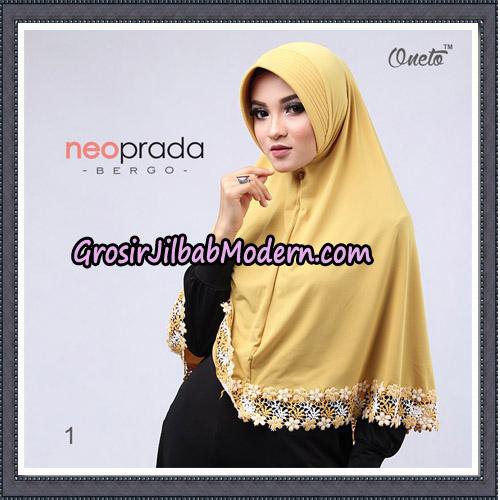 Jilbab Cantik NeoPrada Bergo Original By Oneto Hijab Brand No 1