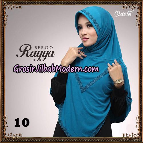 Jilbab Instant Bergo Rayya Original By Oneto Hijab Brand No 10