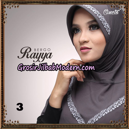 Jilbab Instant Bergo Rayya Original By Oneto Hijab Brand No 3