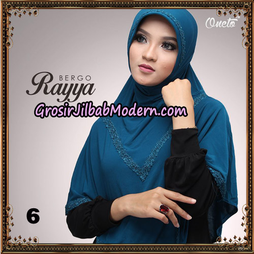 Jilbab Instant Bergo Rayya Original By Oneto Hijab Brand No 6