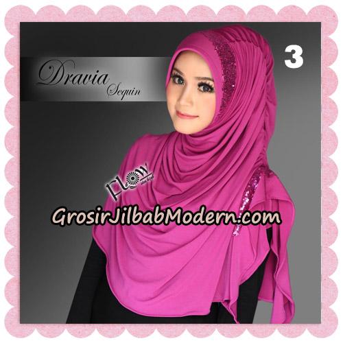 Jilbab Instant Cantik Syria Dravia Sequin Original By Flow Idea No 3