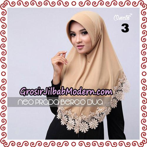 Jilbab Instant NeoPrada Bergo Dua Original By Oneto Hijab Brand No 3