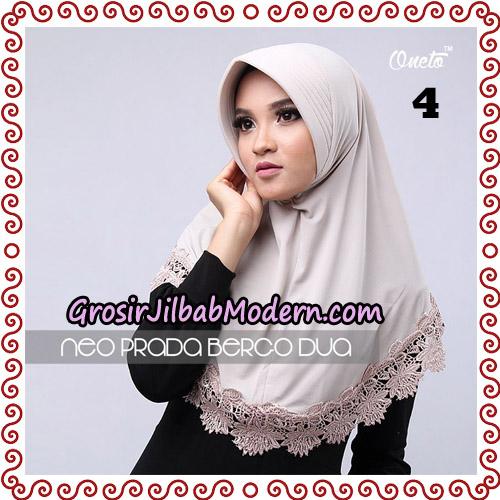 Jilbab Instant NeoPrada Bergo Dua Original By Oneto Hijab Brand No 4