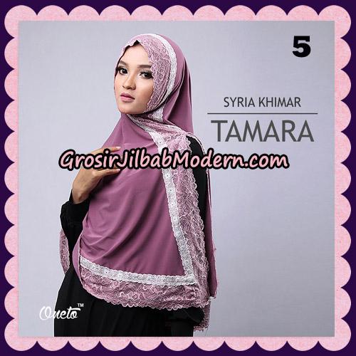Jilbab Syari Cantik Khimar Tamara Support Oneto No 5