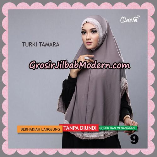 Jilbab Syari Cantik Khimar Turki Tamara Support Oneto No 9