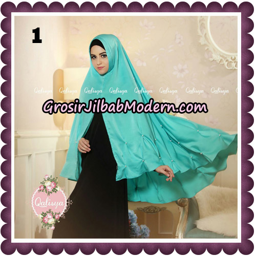 Jilbab Syari Khimar Lulu Original by Qalisya Hijab Brand No 1