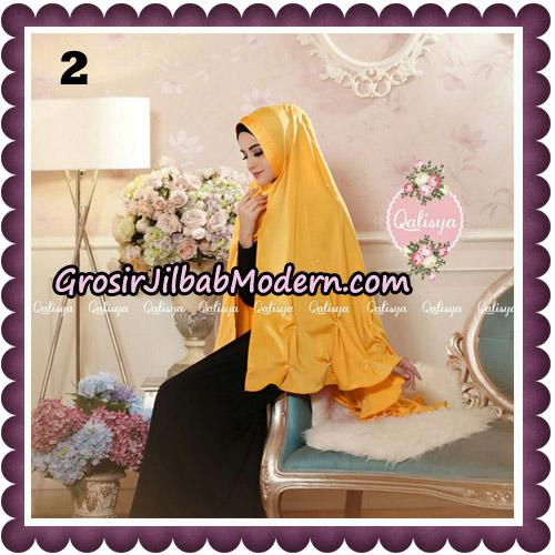 Jilbab Syari Khimar Lulu Original by Qalisya Hijab Brand No 2
