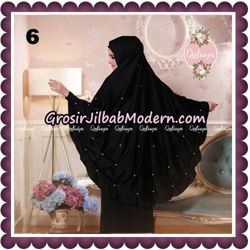 Jilbab Syari Khimar Lulu Original by Qalisya Hijab Brand No 6