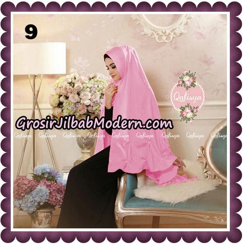Jilbab Syari Khimar Lulu Original by Qalisya Hijab Brand No 9