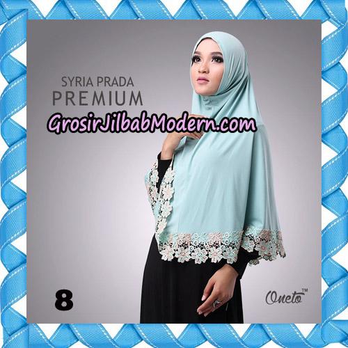 Jilbab Syria Prada Premium Mawar Original By Oneto Hijab Brand No 8
