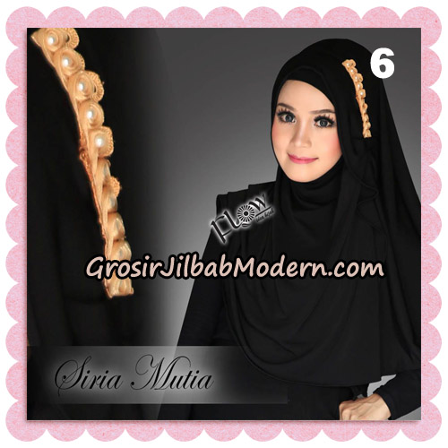 Jilbab Cantik Instant Syria Mutia Original By Flow Idea No 6