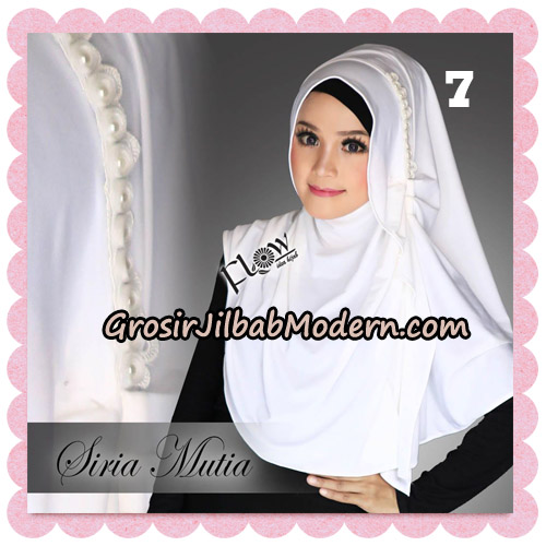 Jilbab Cantik Instant Syria Mutia Original By Flow Idea No 7