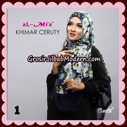 Jilbab Cantik Khimar Ceruty Original By AlMia Brand No 1