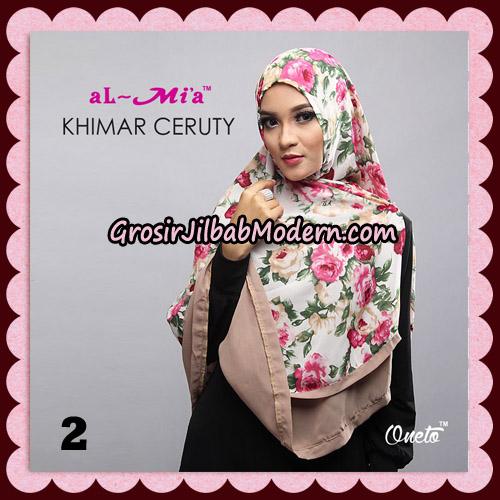 Jilbab Cantik Khimar Ceruty Original By AlMia Brand No 2
