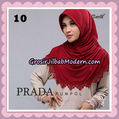 Jilbab Cantik Prada Rumpol Original By Oneto Hijab Brand No 10