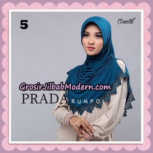 Jilbab Cantik Prada Rumpol Original By Oneto Hijab Brand No 5