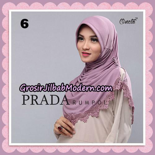 Jilbab Cantik Prada Rumpol Original By Oneto Hijab Brand No 6