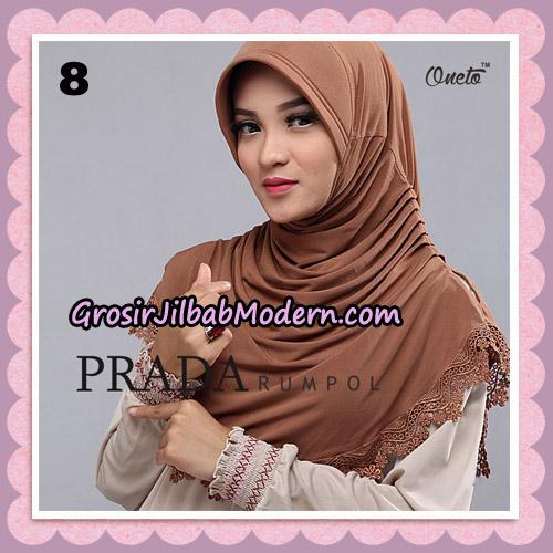 Jilbab Cantik Prada Rumpol Original By Oneto Hijab Brand No 8