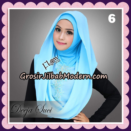 Jilbab Instant Cantik Deeja Suci Original By Flow Idea No 6