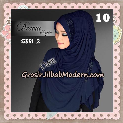Jilbab Instant Cantik Syria Dravia Sequin Seri 2 Original By Flow Idea No 10