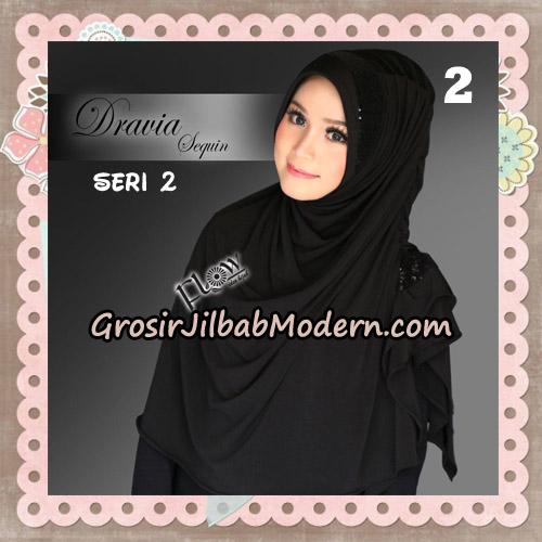 Jilbab Instant Cantik Syria Dravia Sequin Seri 2 Original By Flow Idea No 2