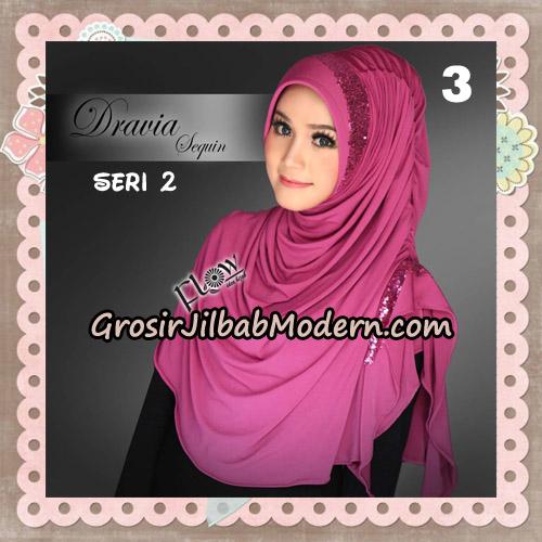 Jilbab Instant Cantik Syria Dravia Sequin Seri 2 Original By Flow Idea No 3