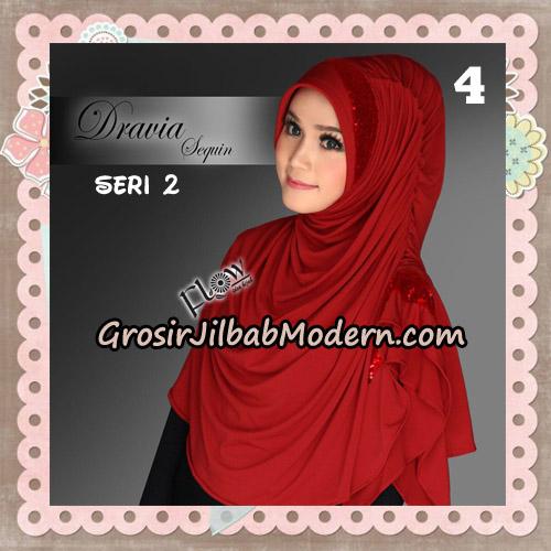 Jilbab Instant Cantik Syria Dravia Sequin Seri 2 Original By Flow Idea No 4