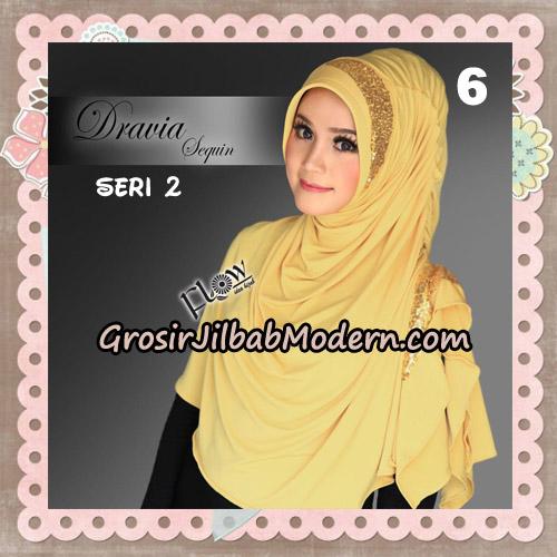 Jilbab Instant Cantik Syria Dravia Sequin Seri 2 Original By Flow Idea No 6