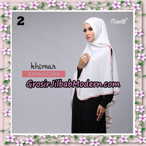 Jilbab Instant Khimar Rahmadani Original By Star Support Oneto Hijab No 2
