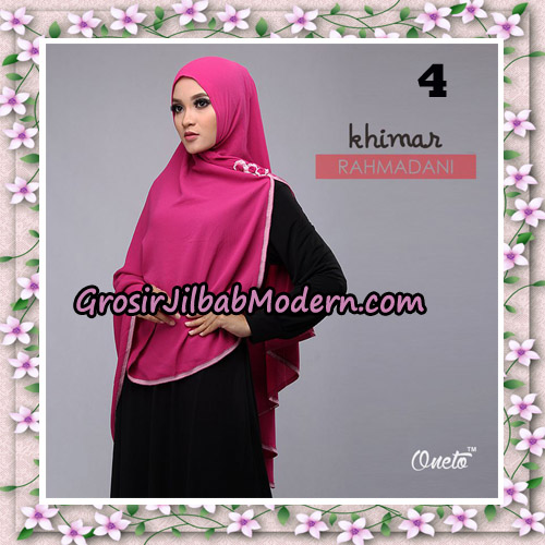 Jilbab Instant Khimar Rahmadani Original By Star Support Oneto Hijab No 4