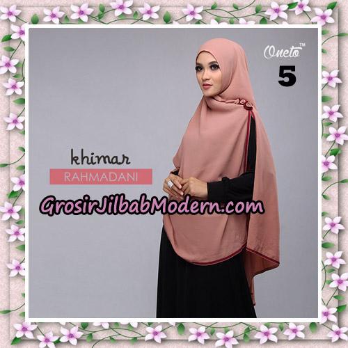 Jilbab Instant Khimar Rahmadani Original By Star Support Oneto Hijab No 5