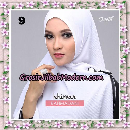 Jilbab Instant Khimar Rahmadani Original By Star Support Oneto Hijab No 9