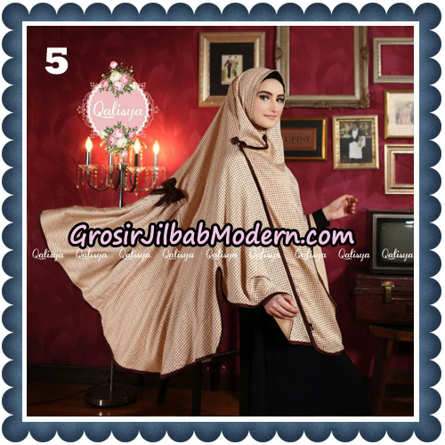 Jilbab Syari Khimar Lauza Original by Qalisya Hijab Brand No 5