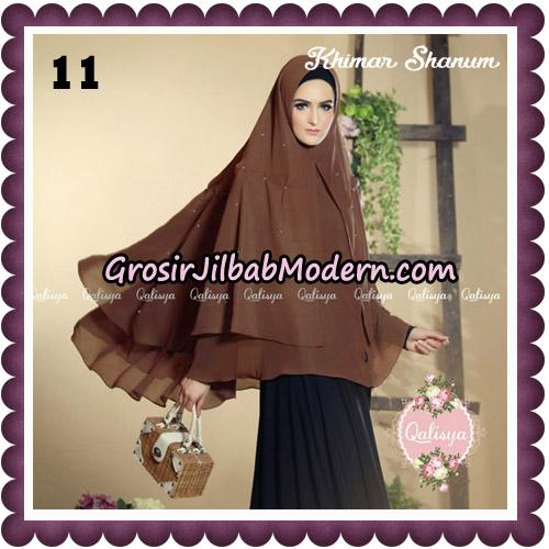 Jilbab Syari Khimar Shanum Original by Qalisya Hijab Brand No 11