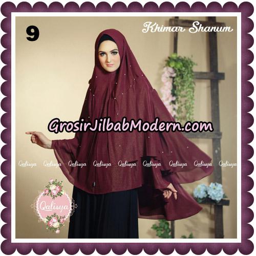 Jilbab Syari Khimar Shanum Original by Qalisya Hijab Brand No 9