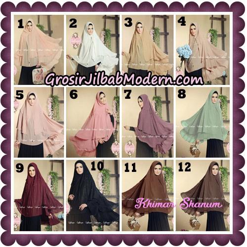 Jilbab Syari Khimar Shanum Original by Qalisya Hijab Brand