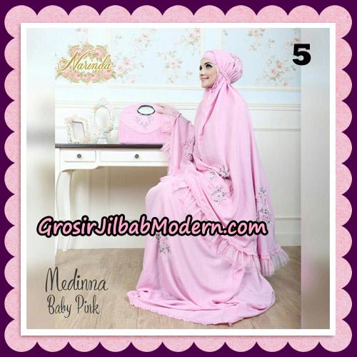 Medinna Set Mukena dan Tas Cantik Original By Narinda Hijab Brand No 5