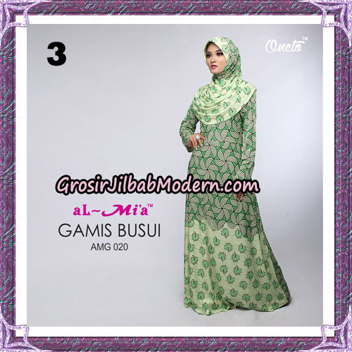 Setelan Gamis Loli Cantik AMG 020 Original By AlMia Brand No 3