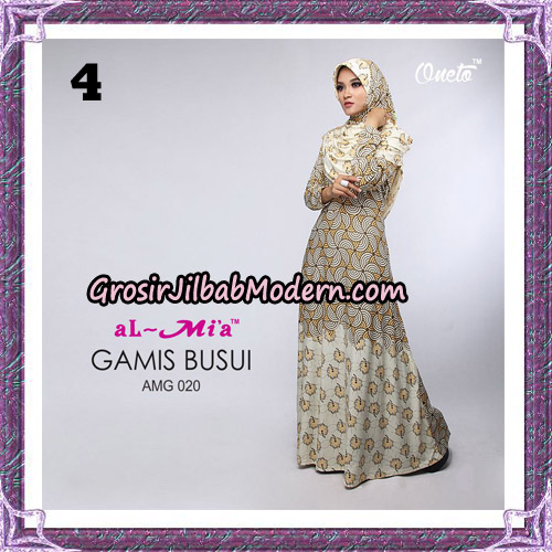 Setelan Gamis Loli Cantik AMG 020 Original By AlMia Brand No 4