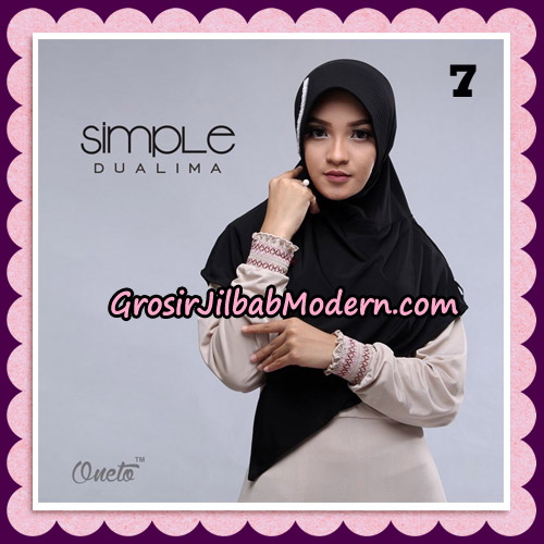 Jilbab Bergo Simple Hijab Seri 25 Original By Firza Hijab Brand No 7