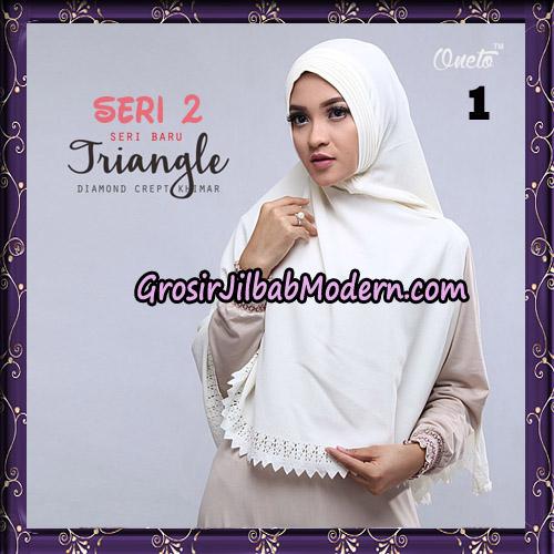 Jilbab Cantik Khimar Lipit Triangle Seri 2 Original By Oneto Hijab Brand No 1