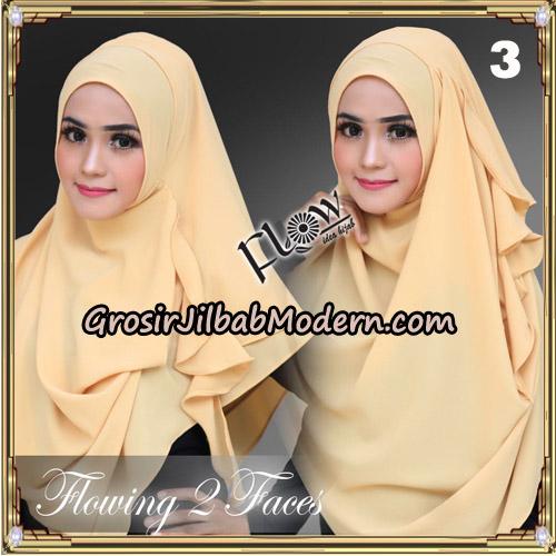 Jilbab Instant Flowing 2 Faces Bunda Widya Henidar Amroe Original By Flow Idea No 3