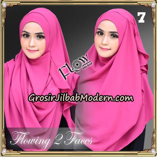 Jilbab Instant Flowing 2 Faces Bunda Widya Henidar Amroe Original By Flow Idea No 7
