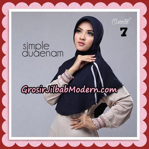 Jilbab Bergo Simple Hijab Seri 26 Original By Firza Hijab Brand No 7