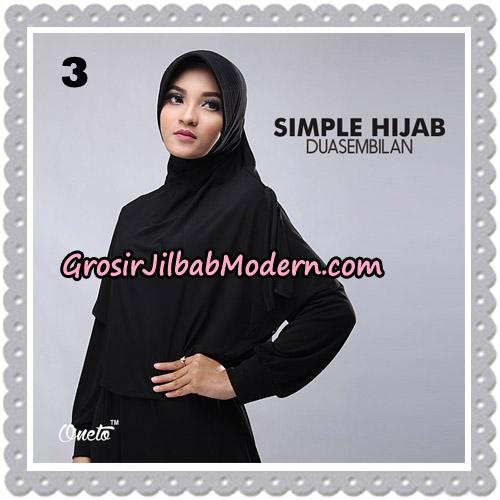 Jilbab Bergo Simple Hijab Seri 29 Original By Firza Hijab Brand No 3