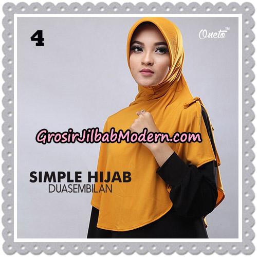 Jilbab Bergo Simple Hijab Seri 29 Original By Firza Hijab Brand No 4