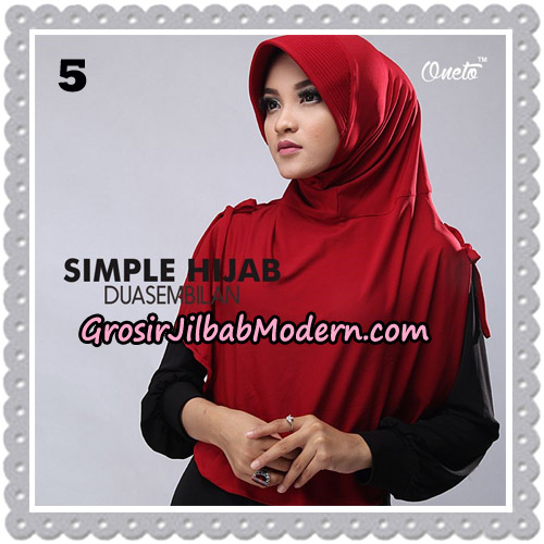 Jilbab Bergo Simple Hijab Seri 29 Original By Firza Hijab Brand No 5