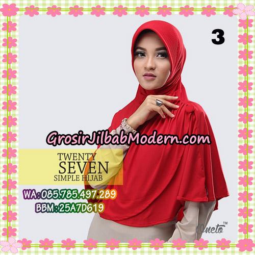 Jilbab Bergo Simple Hijab Twenty Seven Original By Firza Hijab Brand No 3