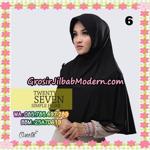 Jilbab Bergo Simple Hijab Twenty Seven Original By Firza Hijab Brand No 6