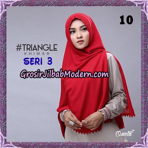 Jilbab Cantik Khimar Lipit Triangle Seri 3 Original By Oneto Hijab Brand No 10